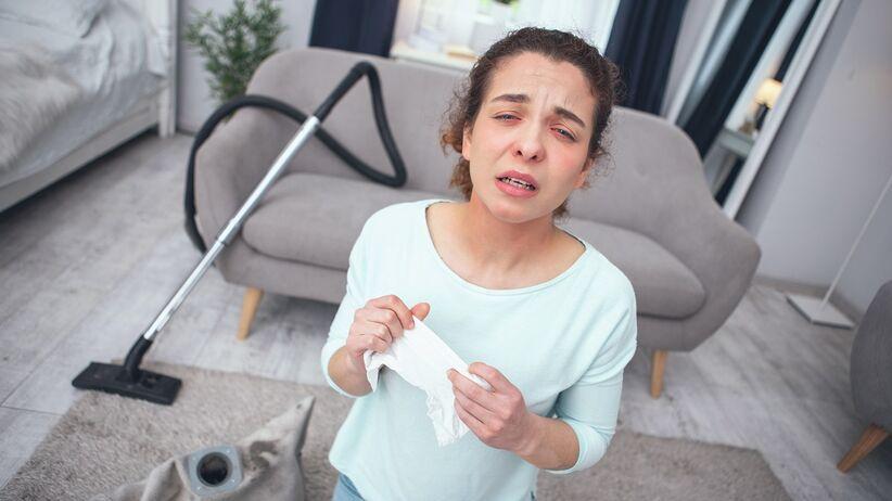 Alergia w domu