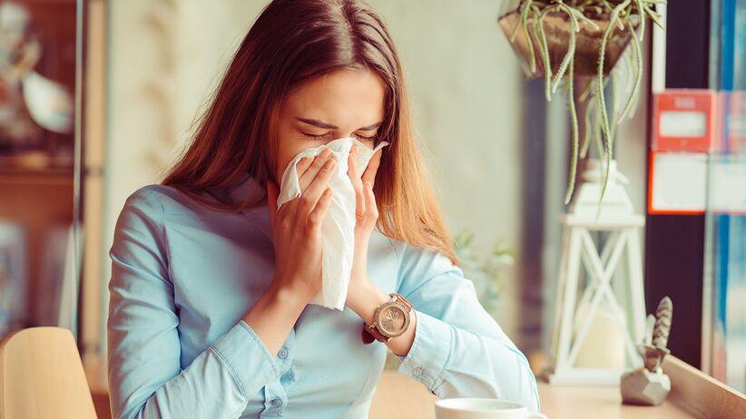 Alergia na pyłki a koronawirus