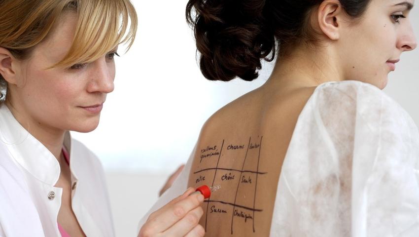 Testy alergiczne pozwalają wykryć atakujący organizm alergen