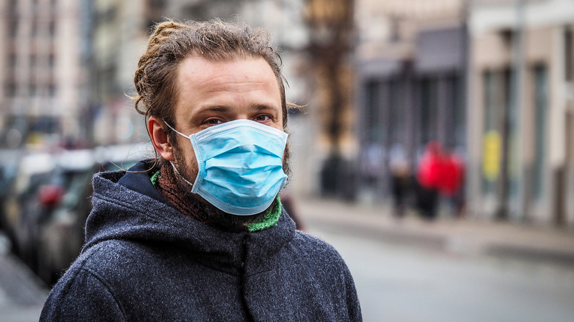 Koronawirus: skutki noszenia brudnych maseczek
