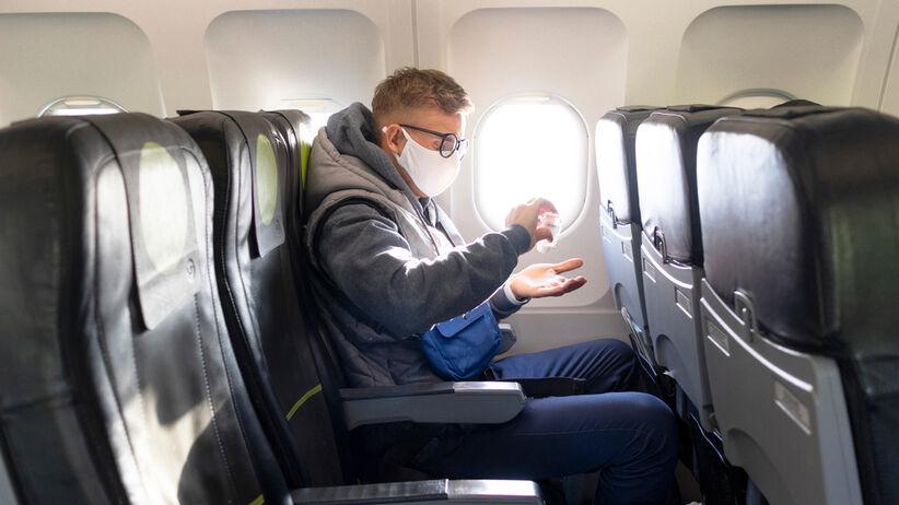 Latanie samolotem w czasie koronawirusa.