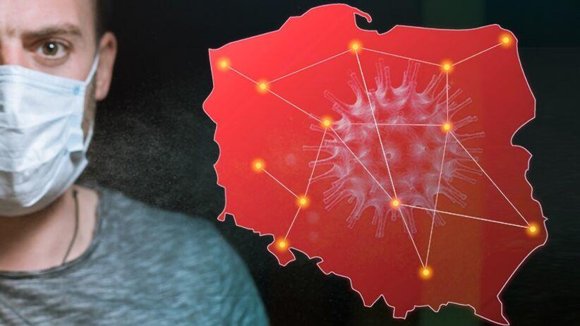 Koronawirus w miastach w Polsce: mapa