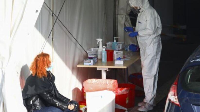 Test na koronawirusa/Beata Zawrzel/REPORTER