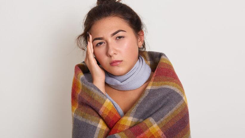 Uczucie zimna z powodu niedoczynności tarczycy