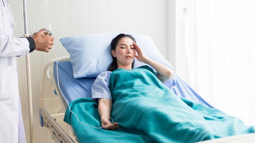 Przełom tarczycowy wymaga pilnej hospitalizacji
