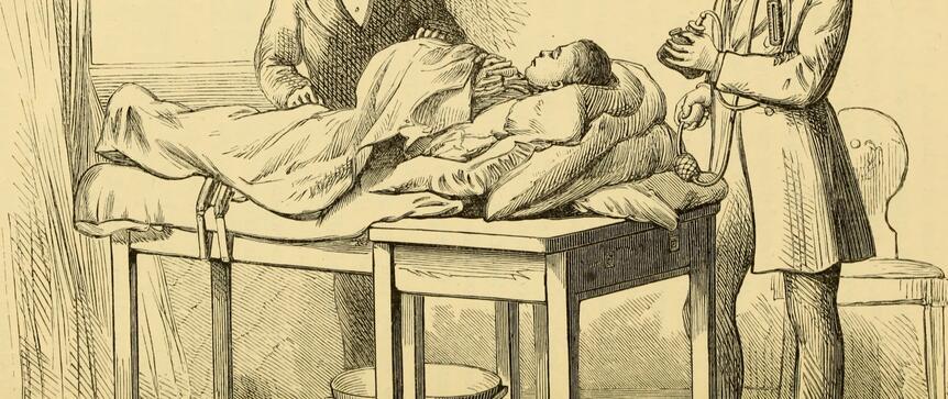 Historia ginekologii. Poród przyjmowano z zawiązanymi oczami i na czworaka
