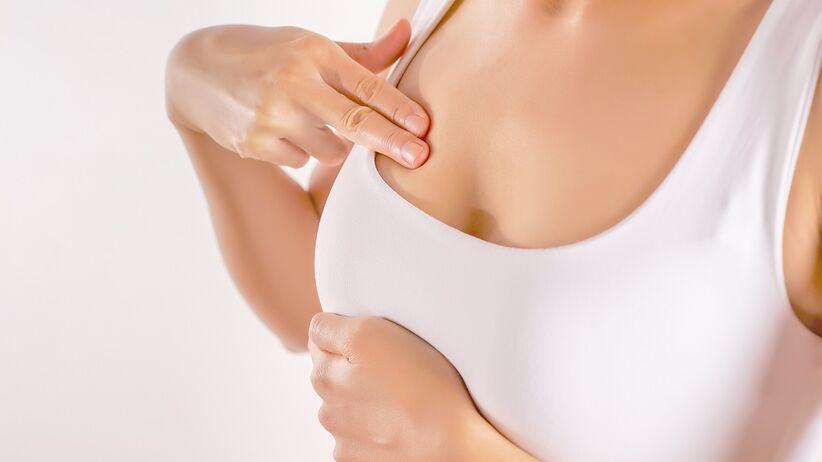 Wydzielina z piersi - o czym świadczy?