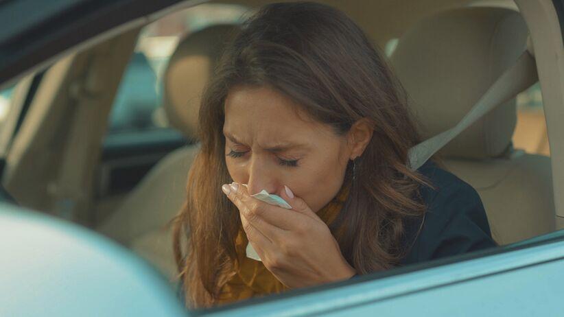 Objawy przeziębienia a prowadzenie samochodu