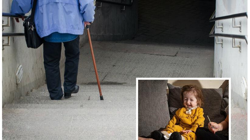 Dziewczynka z progerią