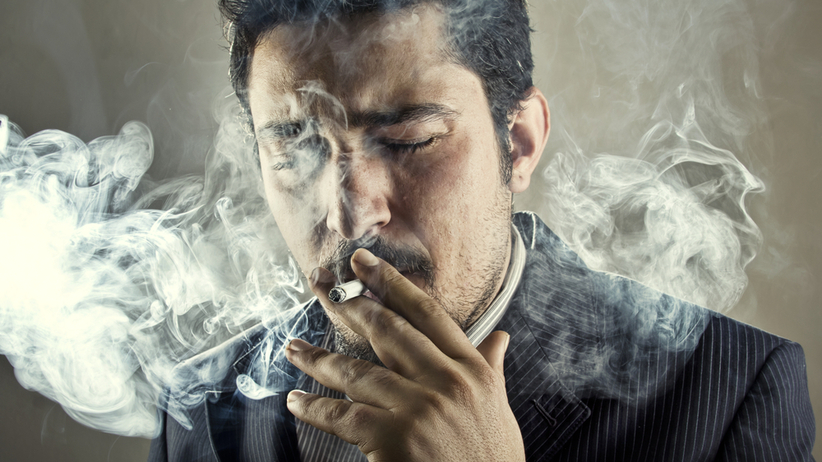 Nałogowy palacz