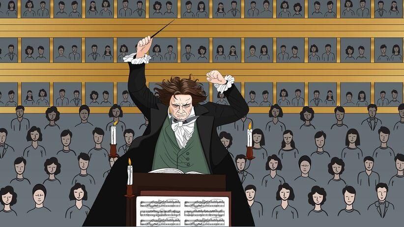 Beethoven stracił słuch