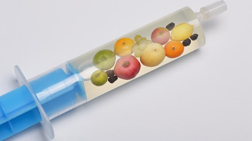 Zastrzyk z owoców