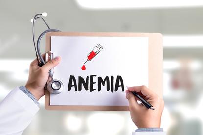 Anemia może być powodowana przez niedobory żelaza w orgazmie lub nieodpowiednią pracę szpiku kostnego