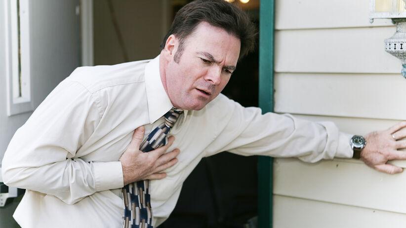 Ból w klatce piersiowej jest objawem wielu chorób.