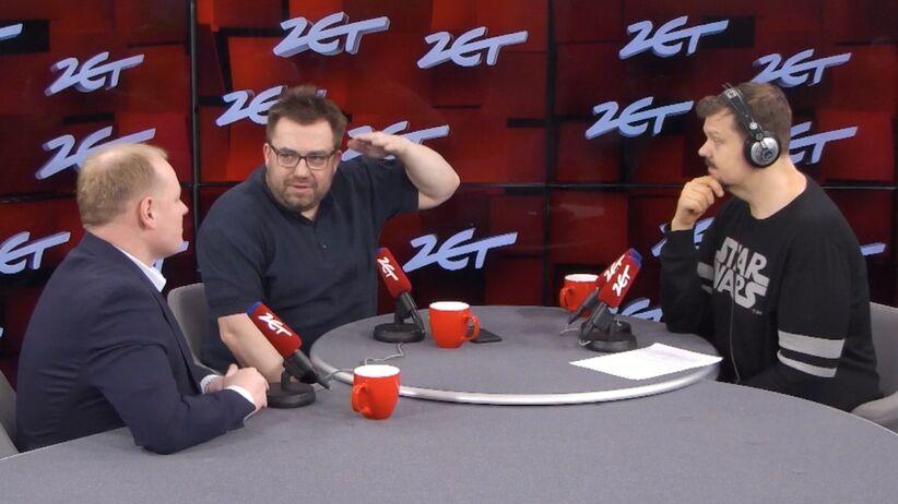 Bartosz Węglarczyk w Radiu ZET