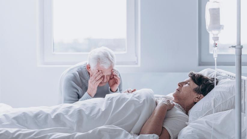 Chory w śpiączce wygląda jakby spał, ale nie wybudza się