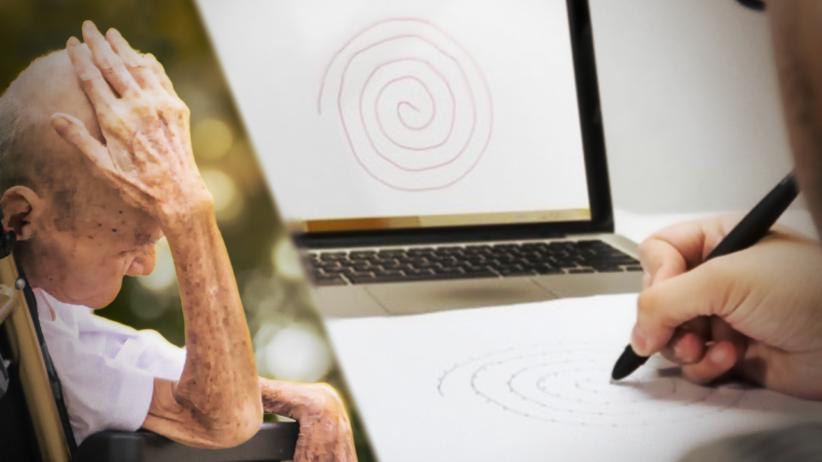 Najprostszy na świecie test na parkinsona: wystarczy... narysować spiralę?