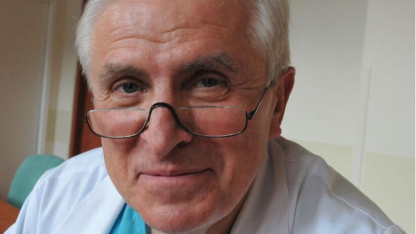 Prof. Tadeusz Orłowski, pulmonolog