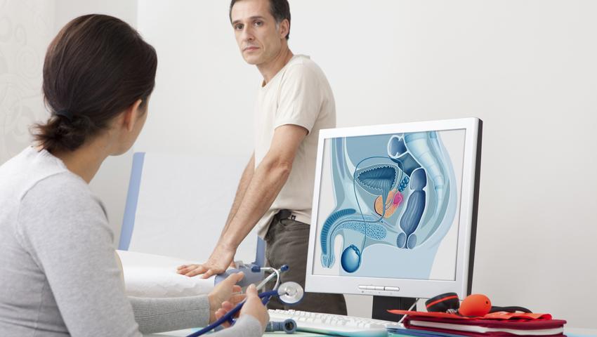 Rak prostaty to złośliwy nowotwór występujacy wyłącznie u mężczyzn