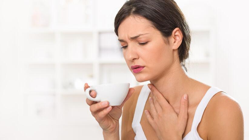 Problemy z przełykaniem