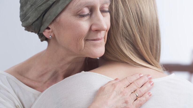 Kobieta chora na raka