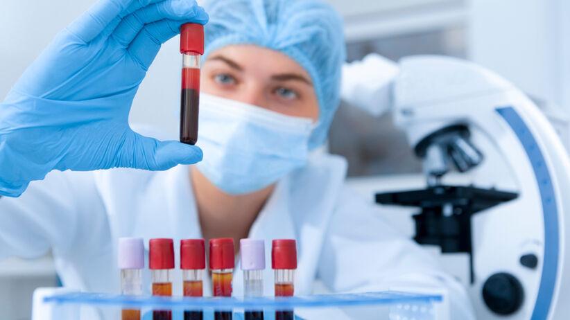 Test z krwi wykrywa raka