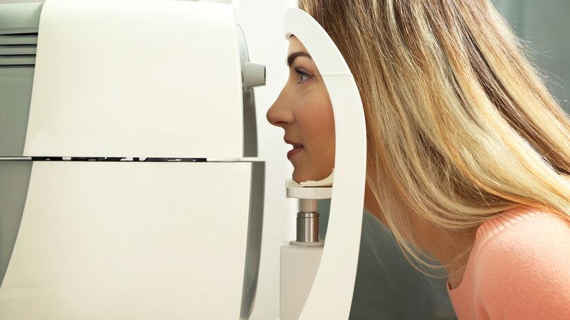Badanie ciśnienia w oku