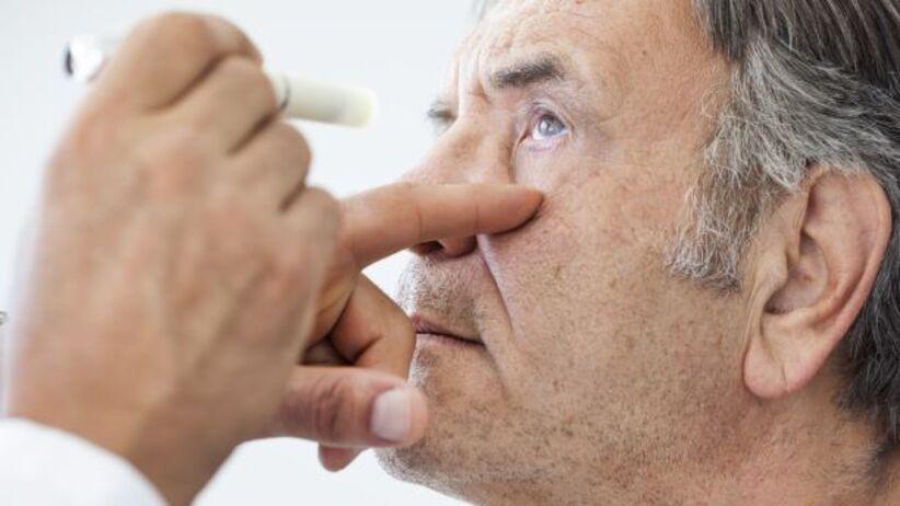 Badanie oczu - COVID-19