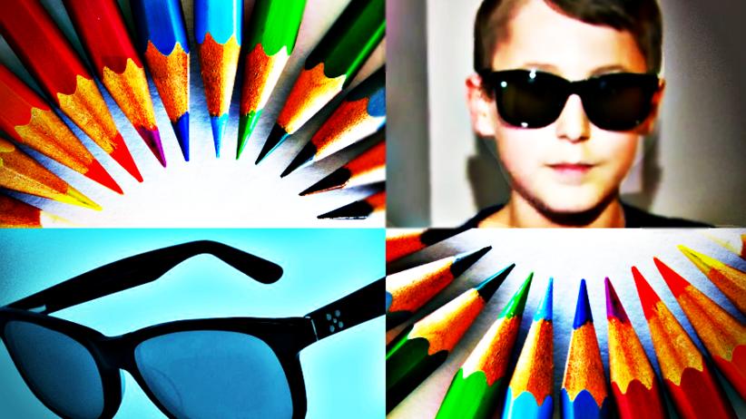 Dzięki tym okularom daltoniści mogą rozpoznać barwy, których nie znali