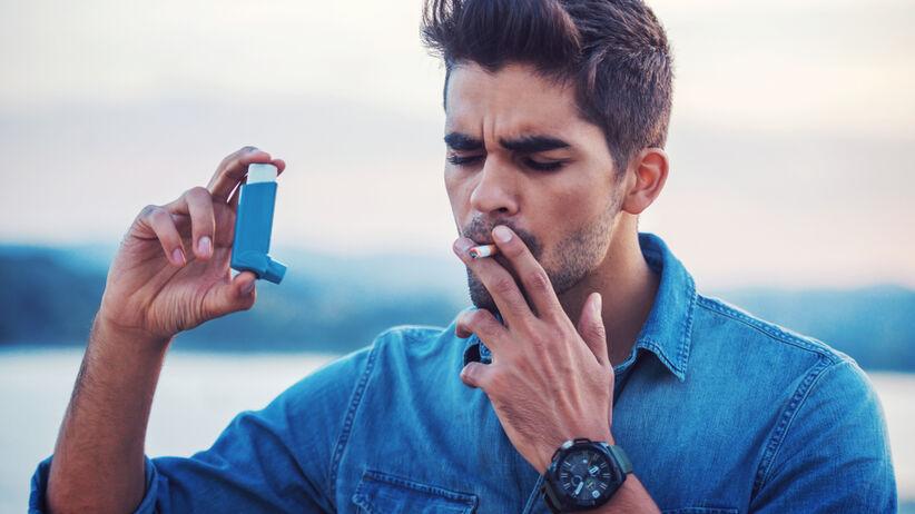 Astma u nałogowych palaczy