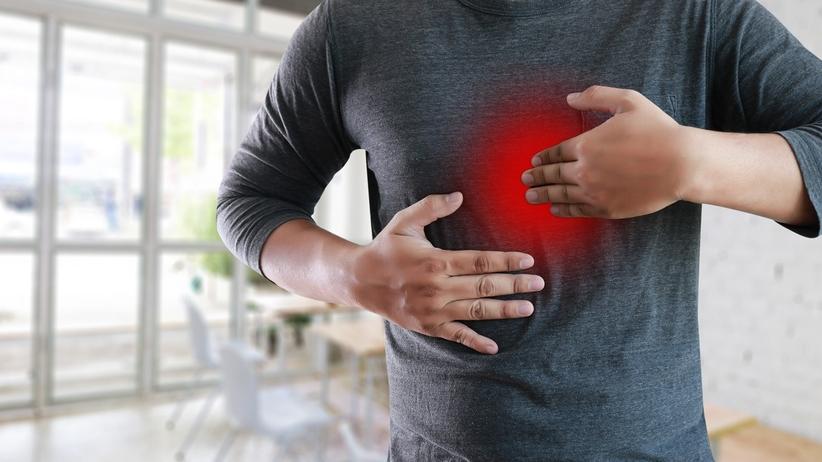 leczenie choroby refluksowo-przełykowej - masaż przepony