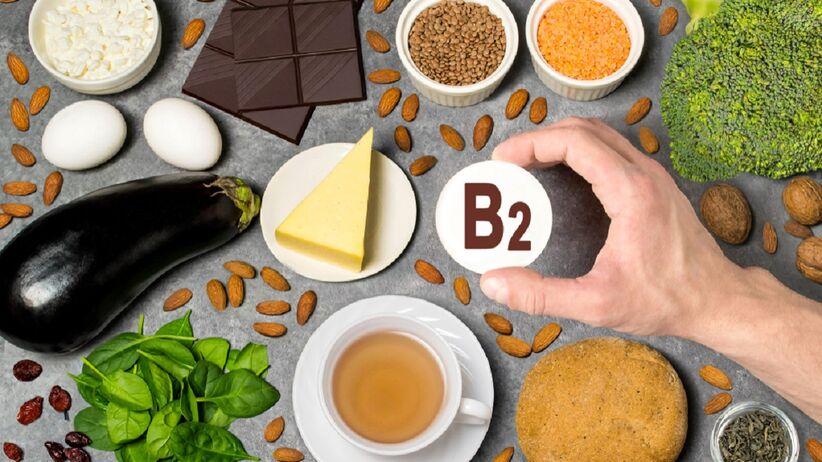 Występowanie witaminy B2