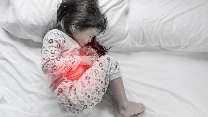 Najczęstszą przyczyną biegunek u dzieci są infekcje wirusowe.