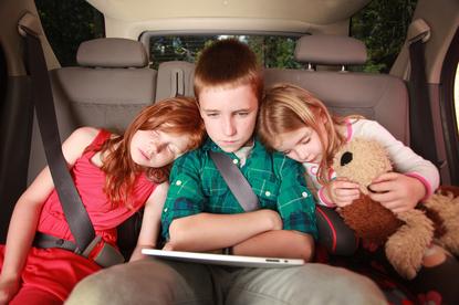 Dzieci w szczególny sposób odczuwają objawy choroby lokomocyjnej