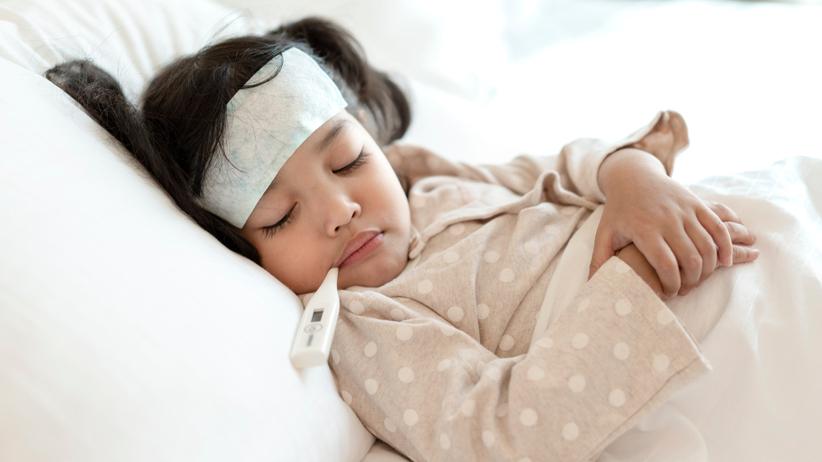 Gorączka u dziecka nie zawsze jest groźna, ale zawsze należy ją monitorować