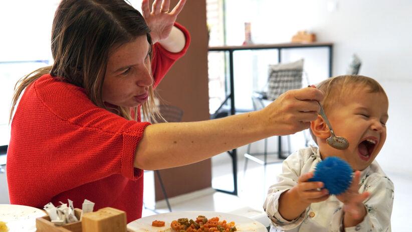 Problem z jedzeniem dziecka