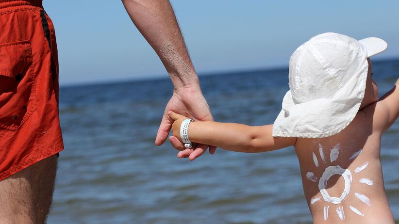 Krem z filtrem dla niemowlaka i małego dziecka