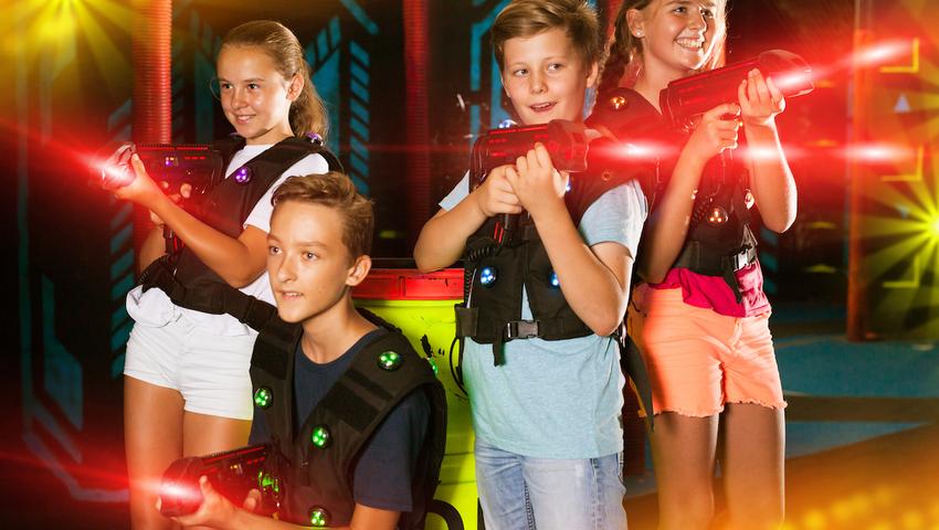 Lasery dla dzieci to niebezpieczna zabawka
