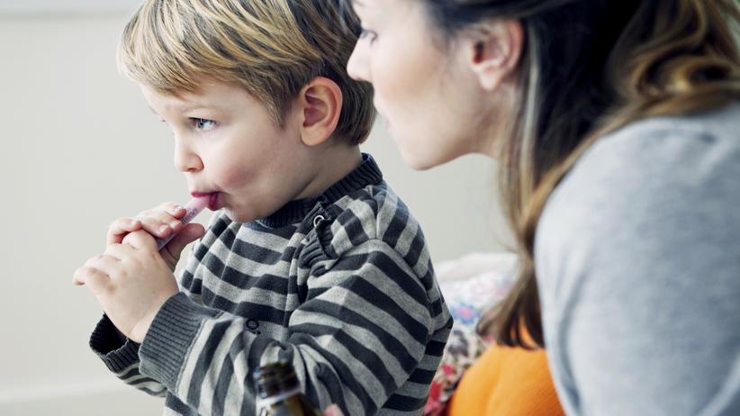 Dziecko lek przeciwgorączkowy (paracetamol)