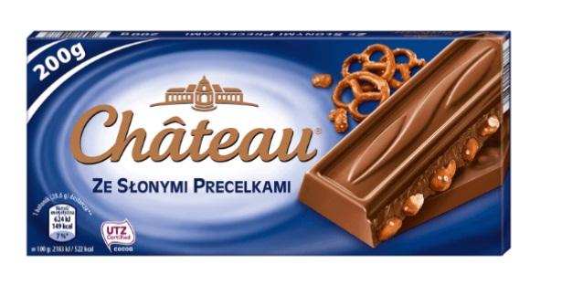 czekolada ze slonymi precelkami
