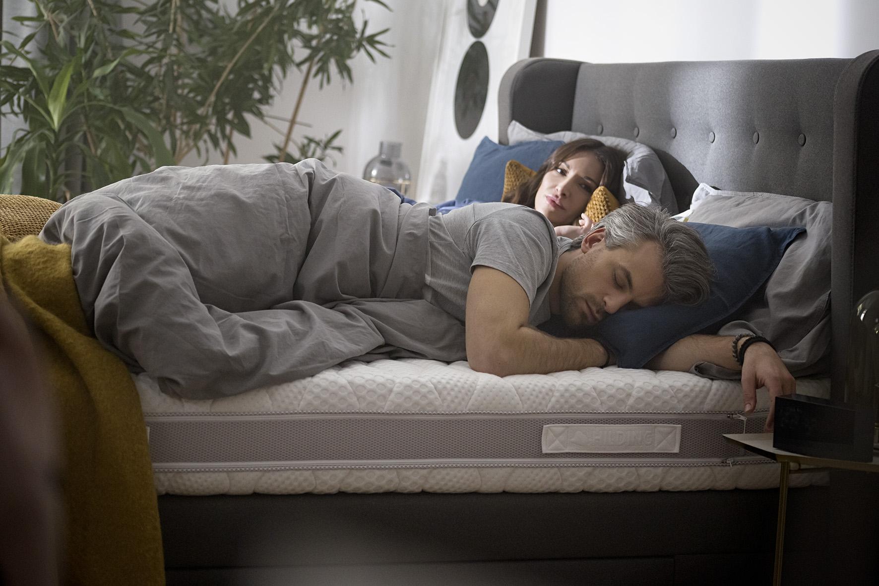 wygodny materac i zdrowy sen sa ze soba nieodlacznie powiazane.