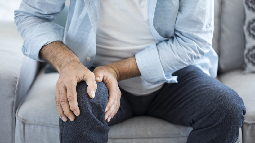 Uraz kolana jest najczęstszą przyczyną bólu