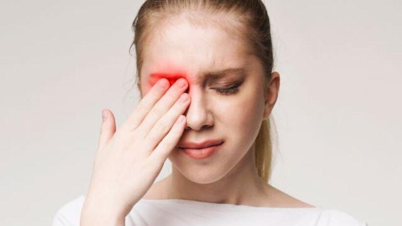 Ból oka - ból gałki ocznej