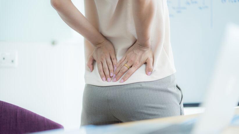 Ból pleców: objawy.