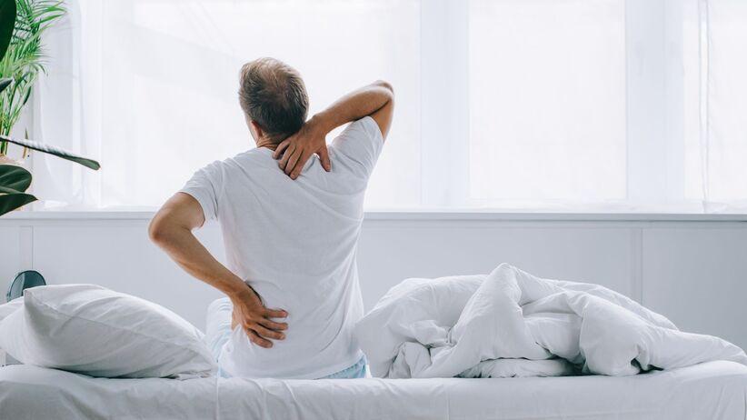 Ból pleców w COVID-19