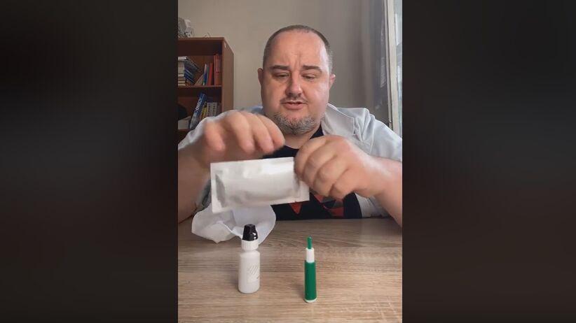 Jak wykonać w domu test na koronawirusa SARS-CoV-2? Lekarz tłumaczy