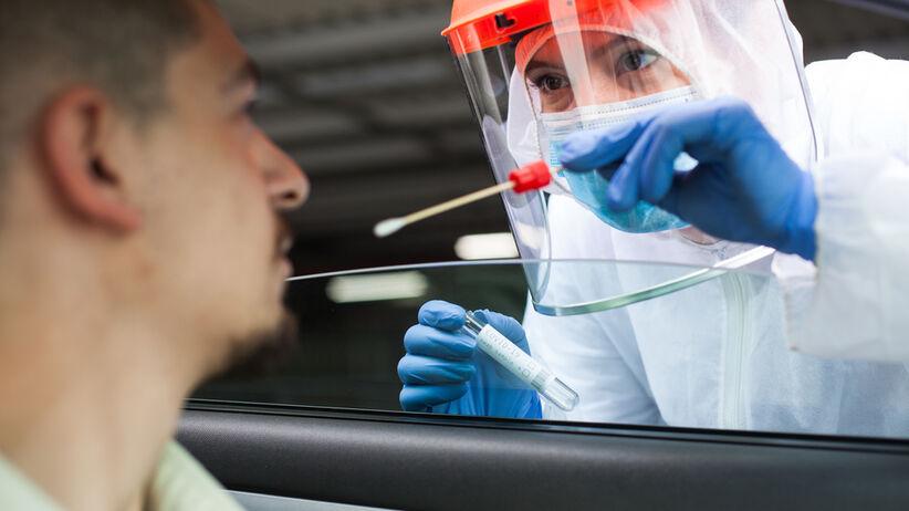 Testy na obecność koronawirusa