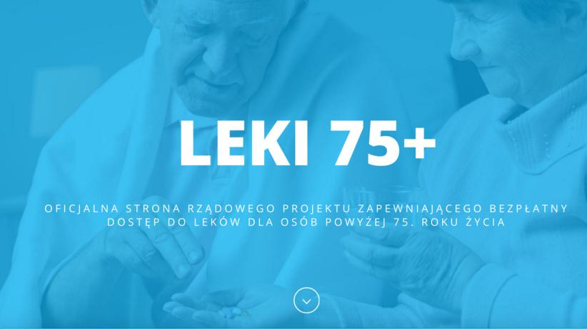 75plus.mz.gov.pl - oficjalny portal o darmowych lekach dla seniorów
