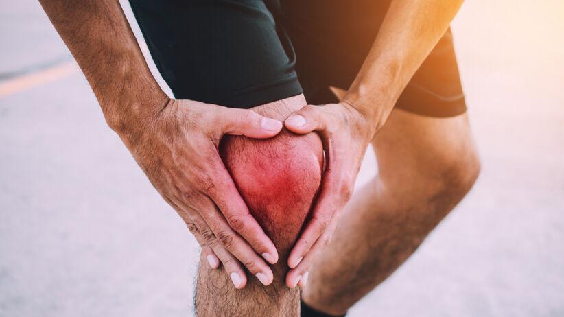 Złamanie rzepki kolana