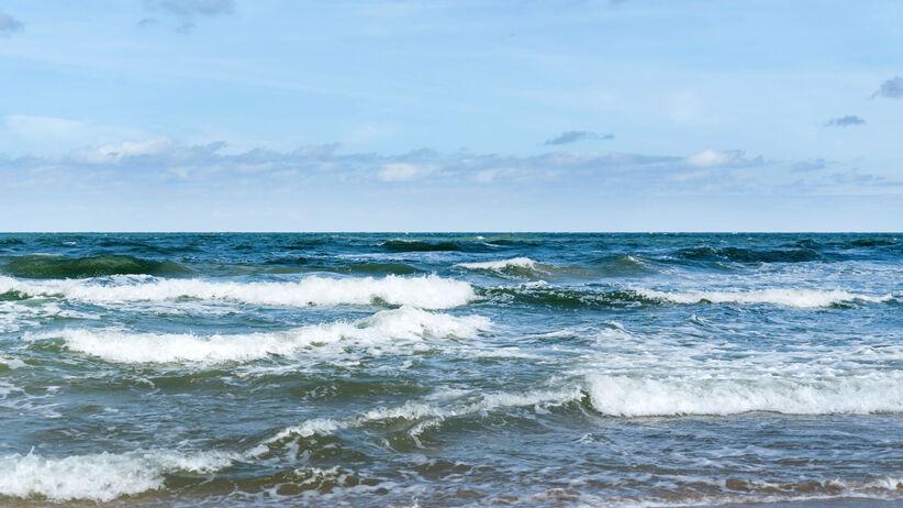 Zakaz kąpieli nad Bałtykiem